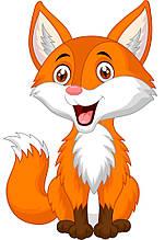 Картина за номерами Радісна лисичка