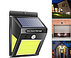 Уличный светильник на солнечной батарее 5Вт 170Lm 6500К СОВ с датчиком движения
