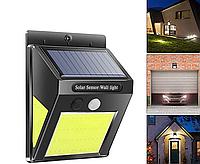 Уличный светильник на солнечной батарее 5Вт 170Lm 6500К СОВ с датчиком движения, фото 1