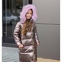 Куртка зимняя детская для девочки ( пальто)  8968