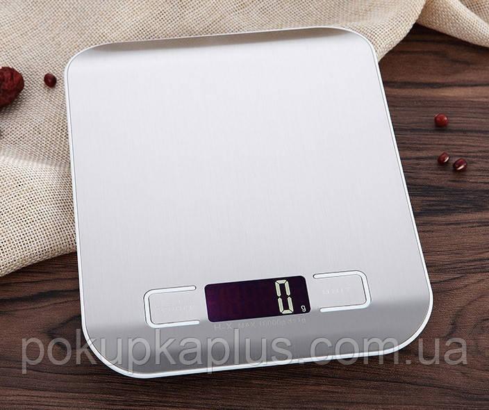 Электронные кухонные весы на 10 кг с LCD-дисплеем UNIT а-123