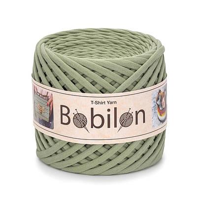 Трикотажная пряжа Бобилон Micro (3-5 мм) Olive Оливковый