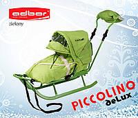 Санки Adbor Piccolino DeLux (Полный комплект санок) Зеленый