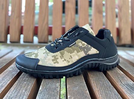 Кросівки камуфляжні чоловічі прошиті, фото 2