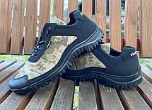 Кросівки камуфляжні чоловічі прошиті, фото 3