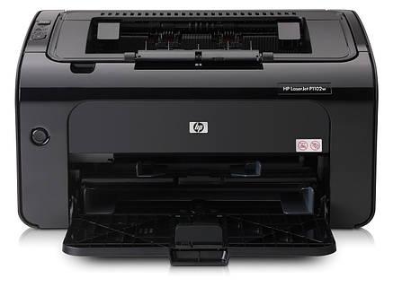 Лазерный принтер HP LaserJet P1102W, фото 2