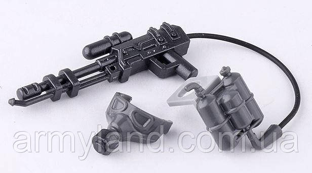 Комплект огнеметчика , конструктор BrickArms