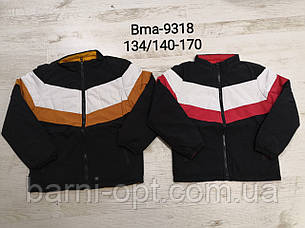 Двосторонні куртки на хлопчиків оптом, Glo-story, 134/140-170 рр, фото 2