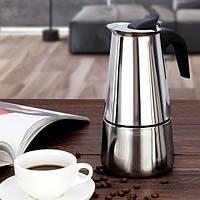 Кофеварка гейзерная A-Plus 2089 на 9 чашек 450 мл
