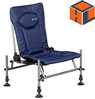 Кресло фидерное карповое M-Elektrostatyk F2 CUZO Цвет: синий (нагрузка 110 кг.)