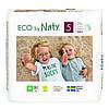 Органічні підгузки-трусики Eco by Naty Розмір 5 (від 12 до 18 кг) 20 шт