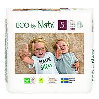 Органічні підгузки-трусики Eco by Naty Розмір 5 (від 12 до 18 кг) 20 шт, фото 1