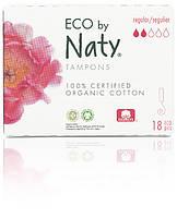 Органические тампоны Eco by Naty Regular 18 шт (ФР-00000392)
