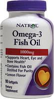 Омега 3 жирные кислоты США (Рыбий жир)1000 мг 90 капсул, купить, цена, отзывы