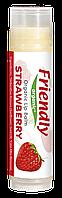 Органічний бальзам для губ Friendly organic полуниця 4,25 гр