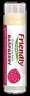 Органічний бальзам для губ Friendly organic малина 4,25 гр