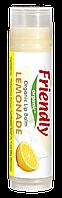 Органічний бальзам для губ Friendly organic лимонад 4,25 гр