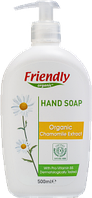 Органічне рідке мило для рук Friendly organic з екстрактом ромашки 500 мл