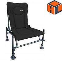 Кресло фидерное карповое M-Elektrostatyk F2 CUZO Цвет: Черный (нагрузка 110 кг.)