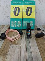 Фитнес браслет трекер M5, фото 2