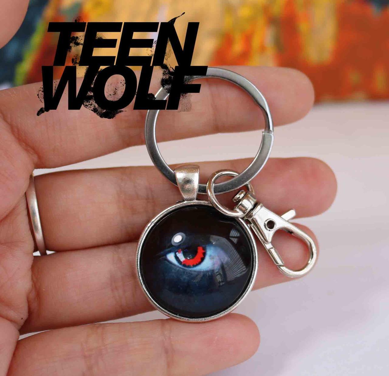 Брелок с глазом альфы Teen Wolf Волчонок