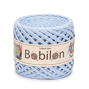 Трикотажная пряжа Bobilon Medium (7-9 мм) Sky Blue Небесно-голубой