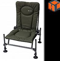 Кресло фидерное карповое M-Elektrostatyk F2 CUZO Цвет: Зелёный (нагрузка 110 кг.)