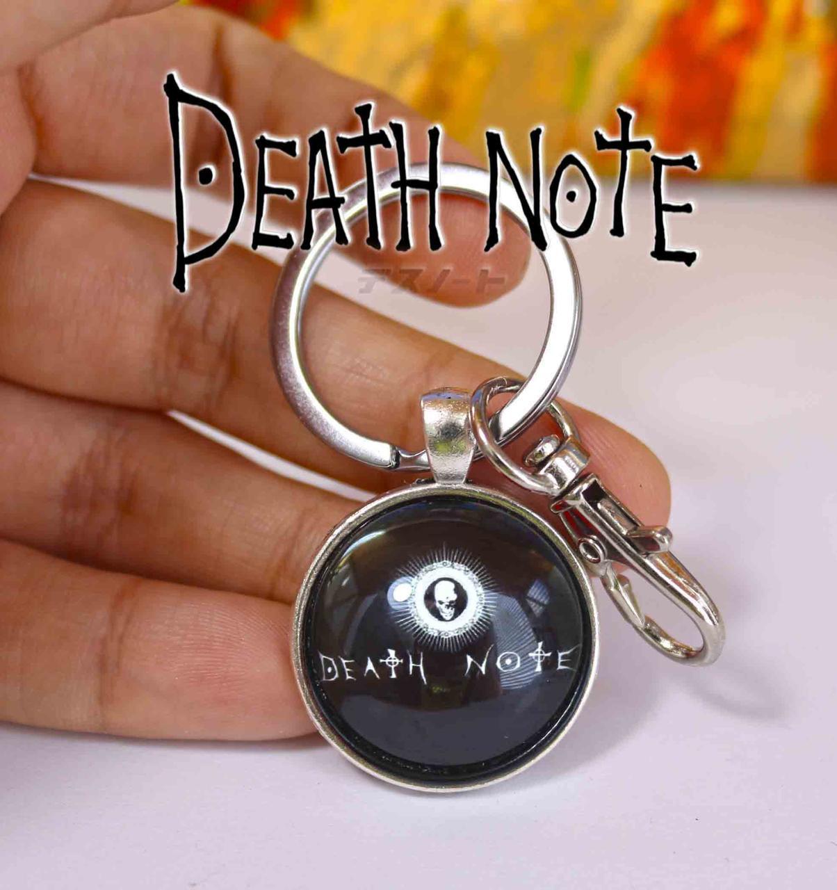 Брелок Тетрадь смерти Death note с логотипом