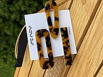 Набор заколок для волос 3 шт. Леопардовый узор, фото 4
