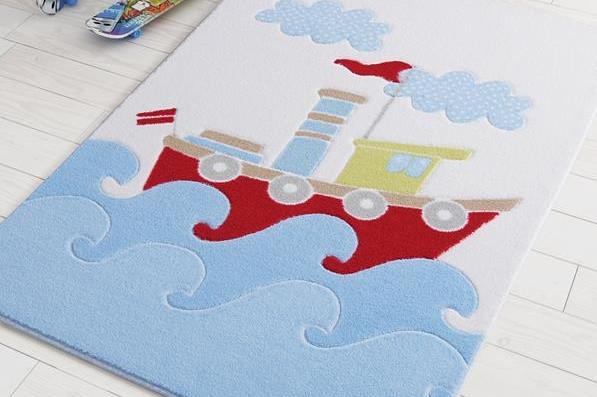 Коврик детский 100x150 CONFETTI Ship Baby Blue