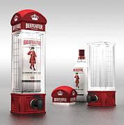 Резервуар в виде телефонной будки 1000мл для безалкогольных и алкогольных напитков