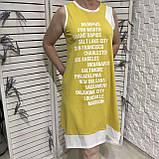 Модне літнє трикотажне плаття з принтом, фото 5