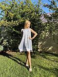 Модне літнє трикотажне плаття з принтом, фото 2