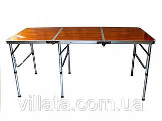 Раскладной стол для пикника тройной RA 1815 стол чемодан для пикника