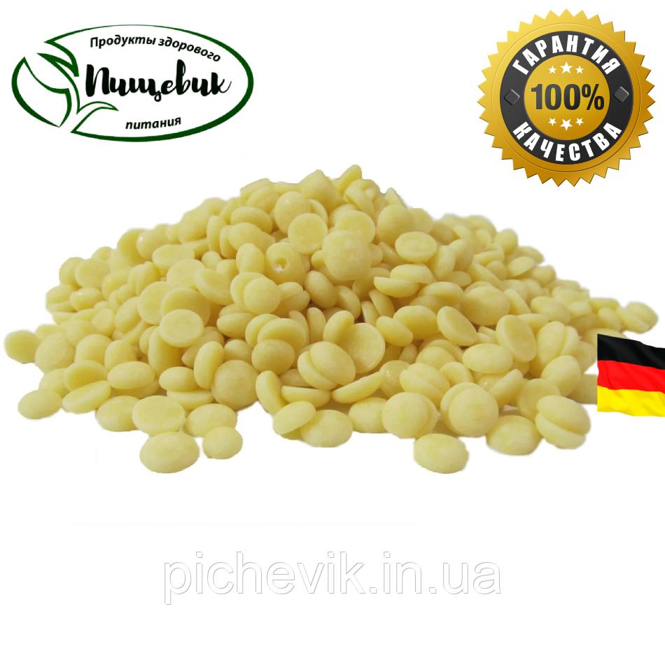 Какао масло дезодорированное (Германия) ТМ Schokinag, в мелких каллетах. Вес:1 кг