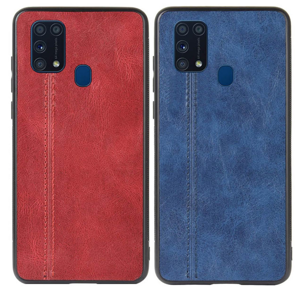 Кожаная накладка Line для Samsung Galaxy M31 SM-M315F