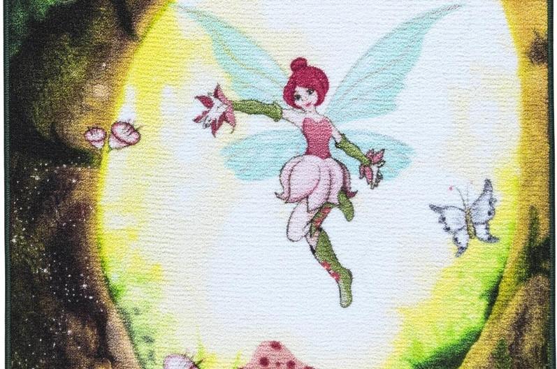 Коврик детский для девочки 100x150 CONFETTI Fairy Forest
