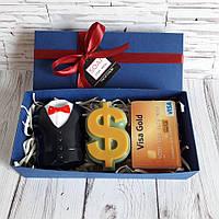 Подарунок для чоловіка - набір сувенірного мила