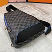 Чоловічий слінг Louis Vuitton Avenue Sling Луї Віттон, фото 3