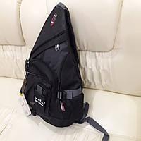 Городской рюкзак на одно плечо Deuter черный