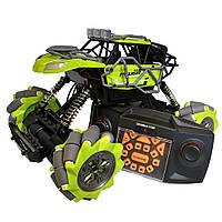 Трюковая машинка на радиоуправлении, вездеход Fever Buggy4WD 4x4 Зеленый | Трюкова машинка на радіокеруванні