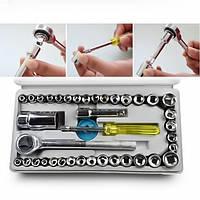 Автомобильный набор инструментов набор инструментов 40 PIECE TOOL SET качественный набор для авто механика