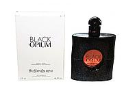 ТЕСТЕР Женские духи  Yves Saint Laurent Black Opium  90 ml  (Ив Сен Лоран Блек Опиум)+ Подарок
