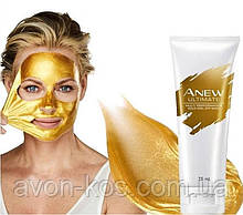 Золотая Маска-пленка для лица «Пилинг и сияние» Avon Anew Ultimate 75 мл