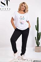 Спортивный костюм с футболкой размеры: 48-52, 54-58