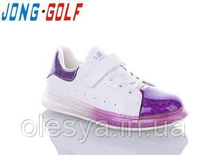 Кроссовки натуральная кожа для девочек ТМ Jong Golf 10101 Размеры 31- 36 ТОП продаж