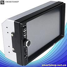Автомагнитола 2DIN MP5 7018B + Bluetooth -  магнитола 2 ДИН с экраном 7 дюймов, 2 пульта (обычный и на руль), фото 3