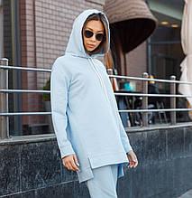 Худи женское голубое Шива (Sheeva) от бренда ТУР размер S,M,L,XL