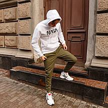 Зимние штаны карго на флисе мужские хаки бренд ТУР модель Грут (Groot), фото 3