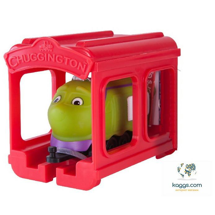 CHUGGINGTON Паровозик Коко с гаражом